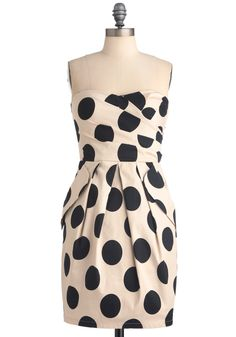 Hollywood Hotspot Dress. Round up your gals, get your going-out tunes thumping, and slip into this oh-so stunning spotted dress, because you're going to impress at the hottest place in town! #multi #modcloth