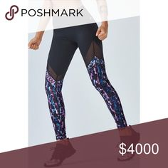 """🆕 Fabletics Brogan Mesh Legging A little bit of mesh goes a long way. Show off your best performance in our high-impact leggings with pieces mesh paneling for style and superior circulation. UPF 50+ and moisture control will keep you fresh from start to finish. Style: Hidden waistband pocket. Moisture-wicking compression fabrics. Inseam: 27""""  ➡️No Trades. ➡️No Lowball Offers. ➡️No Holds. ➡️Bundle and save! Fabletics Pants Leggings"""