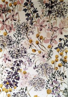 Palette. Lourdes Sanchez untitled flowers 6