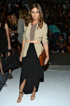 Olivia Palermo Olivia Palermo attends the Rachel Zoe Spring 2013 fashion show during Mercedes-Benz Fashion Week at The Studio Lincoln Center on September 12, 2012 in New York City.
