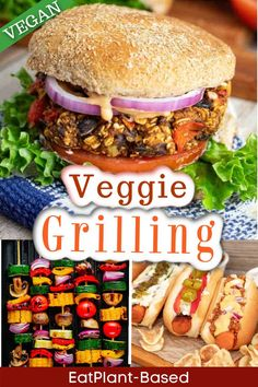 Grilling veggies is not only fun, but it's also very healthy. These delicious summer recipes from EatPlant-Based will have you lighting up the grill for these delicious vegan recipes. Grill marks always make food look absolutely delicious!