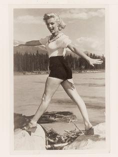 Oh my, those shoes! We just love Marilyn! Style Spotlight: Marilyn Monroe via @WhoWhatWear