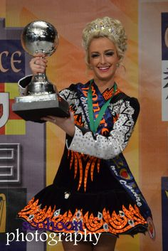 Kevinah Dargan of   Rince Na Tiarna, 2nd place in the Ladies 20-21 competition. Photo by Shannon Cohoon