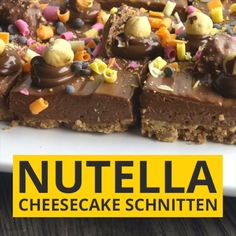 Nutella Cheesecake Brownies Nutella Cheesecake Brownies Related posts: Nutella Cheesecake Brownies – hört sich lecker an! Nutella Käsekuchen Brownies Easy Nutella Brownies – ♡ Chocolate Recipes *for a Sweet Tooth* -… How to Make Nutella Brownies Brownies Au Nutella, Nutella Cheesecake, Cheesecake Brownies, Cheesecake Bites, Nutella Recipes, Brownie Recipes, Cookie Recipes, Dessert Recipes, Brunch Recipes
