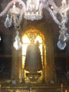 Virgen de Matute en su ermita