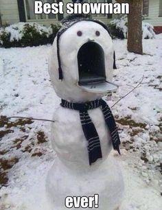 Snowman fun !