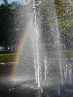 Fountain Rainbow, Hoboken, NJ