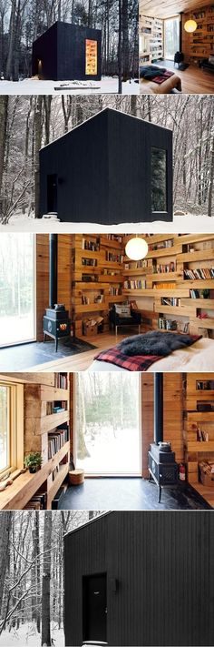 Studio Padron Cabin | Minimalistic Reading Cabin In Upstate New York