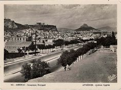 athens in the past Athens Acropolis, Athens Greece, Greece Pictures, Old Greek, Greek History, Manga, Vintage Pictures, Back In The Day, Bauhaus