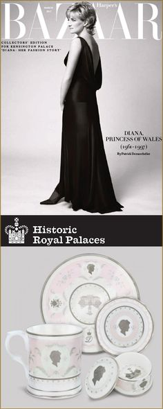 Diana, Princess of Wales captured the world with her iconic fashion style. Her style evolution can be traced through an exciting new exhibition 'Diana: Her Fashion Story' at Kensington Palace. Celebrate Princess Diana's lasting legacy with our exhibition collection featuring exquisite replicas of the Princess's famous jewellery, commemorative fine bone china, and fascinating books about her royal life and style.
