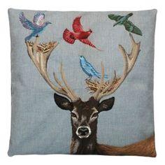 Fantasy Deer Cushion W45 x D45cm III