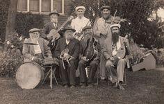 Bearded Band  House of David Musicians RPPC