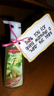 Wild About Teaching: Teacher Appreciation Ideas. Or   Thank you for Giving Me A Hand This Year!