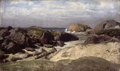 Painting by kitty kielland, Ogna Norway