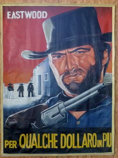 A Fistful of Dollars African Handpainted Movie Poster