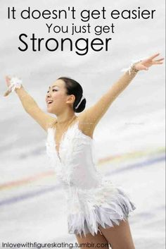 Undeniably true; I was sick for about five months, but I am finally regaining my strength out on the ice!