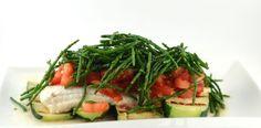 Deze zeewolffilet met courgette, tomaat en zeekraal is echt een sjiek, lekker en super gezond recept. Natuurlijk ook gemakkelijk en snel te bereiden.