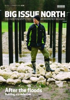 Big Issue North magazine available from March 7-13 2016 - more info about Big Issue North: bigissuenorth.com