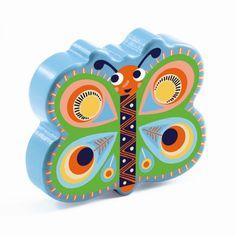 Djeco Animambo Maraca Rassel Schmetterling - Bonuspunkte sammeln, Kauf auf…