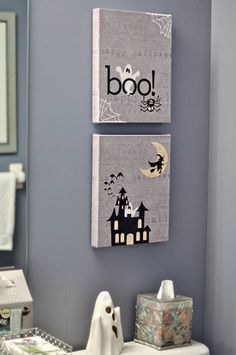 @Angie Wimberly Wimberly Wagner I really want to do something like this with @Designerdigitals digital scrapbooking supplies... love these seasonal canvases