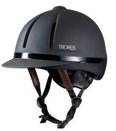Troxel Riding casque intrepid Cheval Noir Sécurité Équitation profil bas large