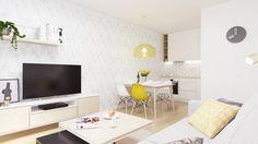 Dobryinterier.sk Flat Screen, Loft, Living Room, Blood Plasma, Flatscreen, Lofts, Home Living Room, Drawing Room, Lounge