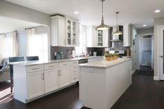 Modern + white kitchen inspiration