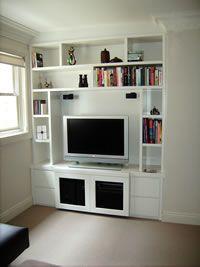 Built-in Storage Sydney: Media TV and display unit