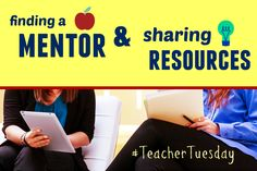 Learn why you need a mentor teacher and how to get one in our latest Inclusion Lab blog post! #TeacherTuesday