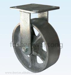 5 pulgadas de plata alta calidad de fundición de hierro de alta resistencia Caster-imagen-Ruedas para muebles -Identificación del producto:60053092478-spanish.alibaba.com