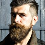 Want a straighter beard? Check out the best straight beard styles and learn how to achieve them (even if you have a curly beard!) with beard straightening products like beard balm and beard straightening combs and brushes. Long Beard Styles, Beard Styles For Men, Hair And Beard Styles, Long Hair Styles, Beard Fade, Full Beard, Man Beard, Epic Beard, Moustaches