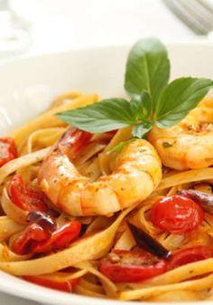 King prawn pasta... yum