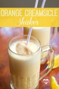 Creamy, tangy and sweet, these creamsicle shakes will tempt your tastebuds! doingood ad