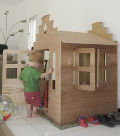 Step gable also Kids Indoor Playhouse, Childrens Playhouse, Build A Playhouse, Indoor Playground, Cubby Houses, Play Houses, Play Wood, Montessori Playroom, Toy Rooms