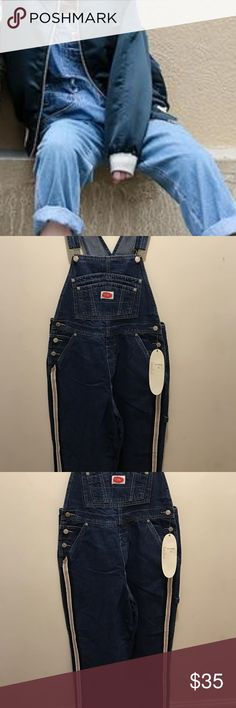 66fa9098061 NWT Revolt carpenter s Overall jeans. Size medium Brand new with tags  Revolt carpenter jean overalls