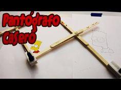 (4) Pantógrafo casero │ Ampliador de dibujos - YouTube