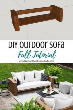 outdoor oasis on a budget . outdoor oasis backyard with pool . outdoor oasis backyard on a budget . outdoor oasis on a budget diy ideas . Outdoor Seating, Outdoor Spaces, Outdoor Living, Outdoor Patio Cushions, Outdoor Wood Bench, Pallet Couch Outdoor, Diy Wood Bench, Table Bench, Outdoor Patios