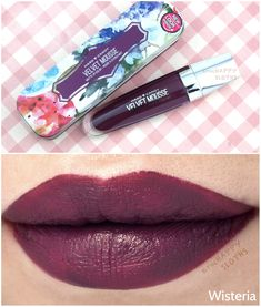 The Happy Sloths: Hard Candy Velvet Mousse Matte Lip Color: Review and Swatches