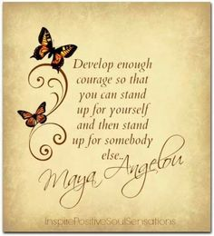 Butterfly courage