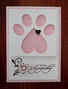 Loss of a Pet - Sympathy Card :'(