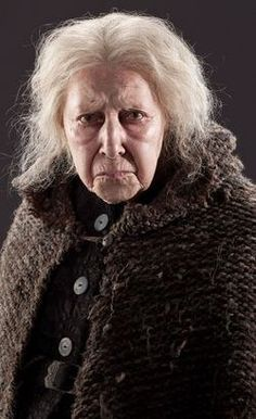 Bathilda Bagshot (Harry Potter and the Deathly Hallows Part I know a woman that really looks like that, but she smiles and is so cute. Immer Harry Potter, Always Harry Potter, Harry Potter Cast, Harry Potter Characters, Harry Potter Movies, Harry Potter World, Movie Characters, Animales, Artists