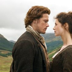 """ Outlander music: Claire and Jamie theme during end credits, 1x02 """