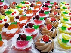 Мыльные пирожные в подарок к Новому Году Одесса Украина