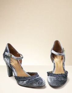 aad85d98c68 Velvet Mary Janes from Boden  105.00 Clearance Shoes