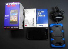 LG Motion 4G MS770 - 5GB - Black (MetroPCS) Smartphone #LG #Bar