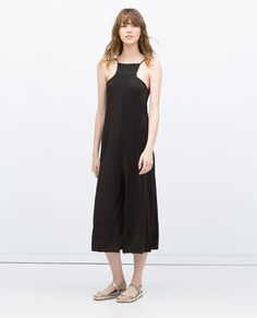 Image 1 of CROPPED HALTER NECK JUMPSUIT from Zara