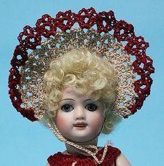 "Jean Nordquist's All Bisque Reproduction 7"" Bleuette ""Belle"" - Jean Nordquist Designs #dollshopsunited"