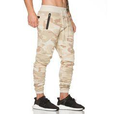 2017 the latest fashion camouflage pants men jogger Cotton Gyms Bodybuilding Pants Breathable Elastic Waist Workout Sweatpants Harem Pants Men, Mens Jogger Pants, Gym Pants, Sport Pants, Workout Pants, Cargo Pants, Skinny Pants, Trousers, Casual Pants