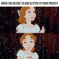 Disney Pixar, Disney Characters, Fictional Characters, Glitter Girl, Pocahontas, Cinderella, Disney Princess, Memes, Funny