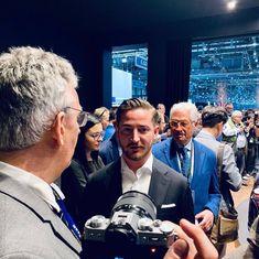 Interview with Rea Stark Rajcic and Giorgio Giugiaro at Geneva Motor show 2019 Geneva Motor Show, Interview